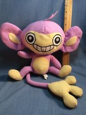 "2010 Toy Factory Nintendo Pokemon Aipom 12"" Plush Figure Soft Toy"