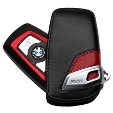 374- ///M BMW MONOGRAM EMBLEM BADGE LOGO Key Leather Pouch Cover Case F30 F10