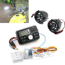 Bluetooth Waterproof Motorcycle Audio FM MP3 Radio Sound System with Speaker