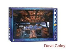 New Eurographics Puzzle 1000 Piece jigsaw puzzle Space Shuttle Cockpit