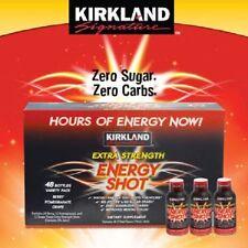 Kirkland Signature Extra Strength Energy Shot 48 Count, 2 Ounces Each
