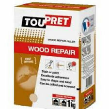 2kg Toupret Quick Drying Powder Wood Repair Filler Can be Drilled or Screwed