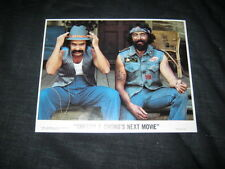 Original CHEECH & CHONG'S NEXT MOVIE Mini 8x10 lobby card #3