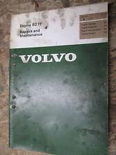 1975 VOLVO B21F ENGINE ORIGINAL FACTORY SERVICE MANUAL REPAIR SHOP MAINTENANCE