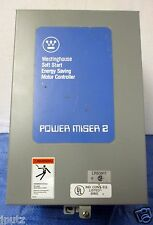 Westinghouse Power Miser Soft Start Energy Saving Motor Controller PM2-A NOS!!!