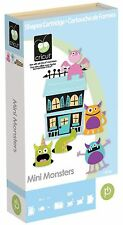 CRICUT *MINI MONSTERS* SHAPES CARTRIDGE *NEW SEALED* HALLOWEEN, CARDS, 3-D BOXES
