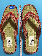 F/S Japanese Tatami Straw Mat Zori Sandals Cute Kawaii for lady LL 24.5cm Kyoto