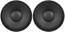 "2) Peavey 1208-8 SPS BW RB SF Replacement Basket 12"" 8 ohm Black Widow Subwoofer"