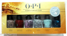 Travel Exclusive OPI Venice Collection 6 mini nail polish set new in box