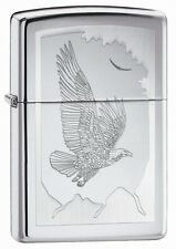 Zippo Birds of Prey High Polish Chrome Lighter 21069