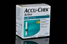 Accu-Chek Active 50 Test Strips, 50 Strips, 1 Code Chip