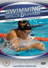 Swimming Skills and Drills Vol. 2 - DVD - Master Every Stroke - Free Shipping