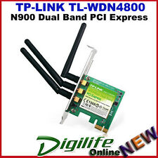 TP-Link TL-WDN4800 450Mbps Wireless N Dual Band 5GHz PCI-E Adapter