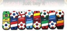8GB 2.0 Novelty Football Theme 8GB USB Memory Stick --- 8 Different Countries