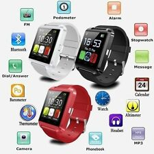 Bluetooth Smart Watch Téléphone Compagnon Pour  Android& iOS iPhone Samsung