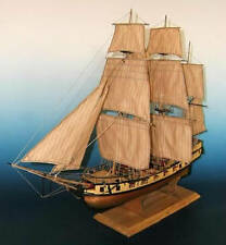 "Beautiful, sophisticated wooden model ship kit by Soclaine: ""Le Tonnant""   -New!"