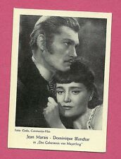 Jean Marais Dominique Blanchar Vintage Movie Film Star German Card