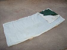 Italian army surplus 1960's era Alpine troop mountain sleeping bag used