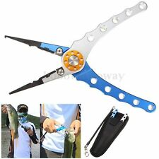 Aluminum 7.9'' Fish Plier Fishing Pliers Tackle Tool Hook Remover Line Tool  Tw