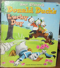 DONALD DUCK'S LUCKY DAY by WALT DISNEY 1983