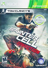 Tom Clancy's Splinter Cell Conviction XBOX 360 GAME BRAND NEW