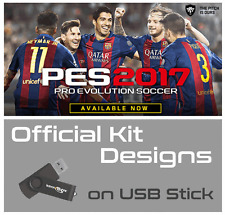 PES 2017 Option File ULTIMATE -Pro Evolution Soccer 2017 Kits For PS4 - 2GB USB