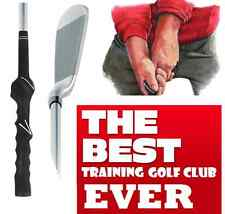 LEARNING BEGINNER OVERSIZE #6 IRON PRACTICE HITTING GOLF CLUB with Training Grip