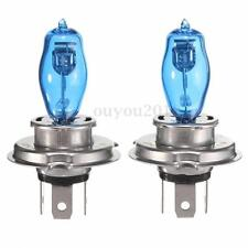 2x H4 100W Ultra Blanc 6000K 12V Voiture HOD Xenon Phare Feux Headlight Ampoule