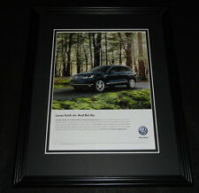 2015 Volkswagen VW Touareg TDI Clean Diesel Framed 11x14 ORIGINAL Advertisement