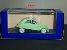 TINTIN NO.6 L'AFFAIRE TOURNESOL COMIC GREEN CITROEN 2CV DIECAST MODEL CAR