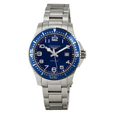 Longines HydroConquest Blue Dial Stainless Steel Mens Watch L3.688.4.03.6