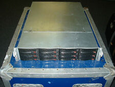 Supermicro 2U Server X8DTN+ 2x Xeon X5660 2.8ghz Hex Core 72gb 12xTrays FREENAS