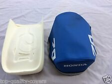 Brand new High Quality Foam + blue Seat cover for HONDA ATC70 1978 -1985