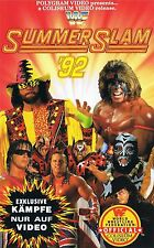 WWF Summerslam 1992 ORIG VHS WWE Wrestling deutsch komplette Show