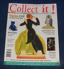 COLLECT IT! ISSUE 11 MAY 1998 - CLARICE CLIFF/TOBY JUGS/BEANIE BABY