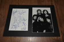 GLASS TIGER signed Autogramm in 20x30 cm Passepartout InPerson LOOK