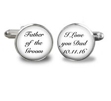Father-of-the-GroomCufflinks-Proud to be your SON-Wedding,mens-jewelry,wedding c