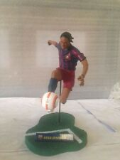 FT CHAMPS FC BARCELONA RONALDINHO 10 SOCCER PLAYER ACTION FIGURE *DISPLAY PIECE*
