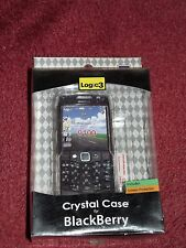 BLACKBERRY 9100 CRYSTAL CASE WITH SCREEN PROTECTOR LOGIC3