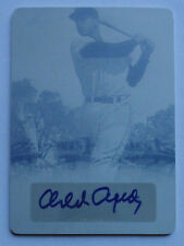 1/1 Orlando Cepeda 2013 Leaf Sports Heroes Printing Plate Yellow Auto 1 of 1