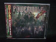 POWERWOLF The Metal Mass Live JAPAN CD Sun Caged Flowing Tears German Metal !