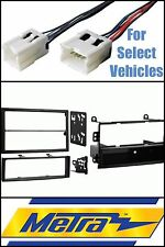 Metra 99-7402 Single+Double Din Stereo Radio Install Dash Kit + Wire Combo