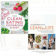 Louise Parker Method Lean for Life 2 Books Set diet Collection New Clean Eating