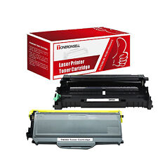 2 PK Compatible DR360 Drum + TN360 Toner For Brother DCP-7040 HL-2140 HL-2170W