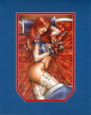 SEXY MARY JANE WATSON in LINGERIE PRINT PROFESSIONALLY MATTED Jamie Tyndall