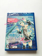 [Brand New] Hatsune Miku Project DIVA X - PS Vita [Japan Import] PSV