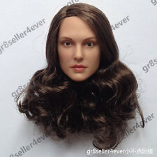 1/6 scale head sculpt Natalie Portman for Hottoys Phicen Female body