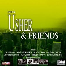 USHER - Usher & friends - NOTORIUS BIG SNOOP DOGGY - CD 2005 NEAR MINT CONDITION
