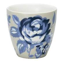 GreenGate Floral Mini Latte Cup in Amanda Dark Blue