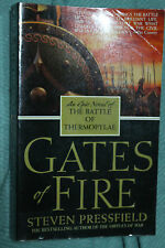 GATES OF FIRE Epic Battle of Thermopylae Steven Pressfield VG Large PB